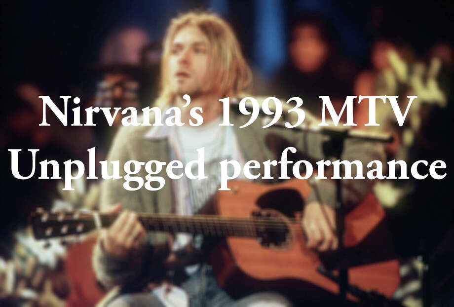 Kurt Cobain of Nirvana during the taping of MTV Unplugged at Sony Studios in New York City, 11/18/93. Photo by Frank Micelotta. *** Special Rates Apply *** Call for Rates *** Photo: Frank Micelotta Archive/Getty Images