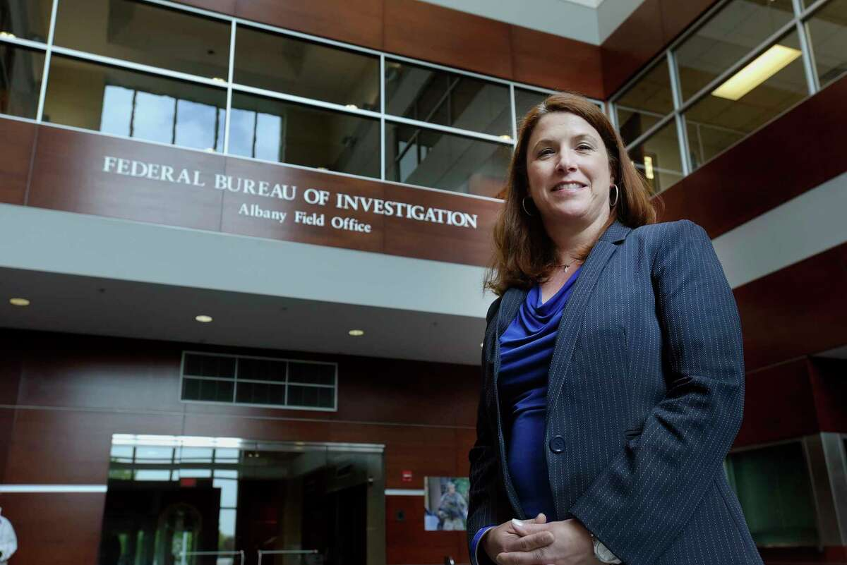 Janelle Miller, the acting Special Agent-in-Charge of the Albany division of the FBI, at the FBI building on Wednesday, May 16, 2018, in Albany, N.Y. (Paul Buckowski/Times Union)