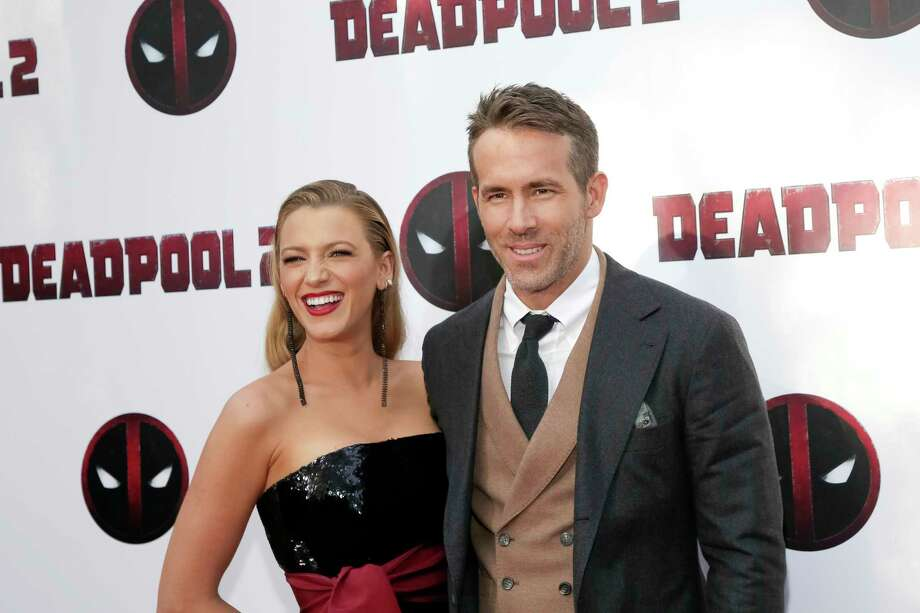 "Actors Blake Lively, left, and Ryan Reynolds attend a special screening of ""Deadpool 2"" at AMC Loews Lincoln Square on Monday, May 14, 2018, in New York. (Photo by Brent N. Clarke/Invision/AP) Photo: Brent N. Clarke / 2018 Invision"