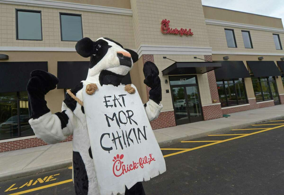 The new Chick-fil-A restaurant Wednesday September 20, 2017, on Connecticut Ave. in Norwalk, Conn. The restaurant plans to open in October and employ 120 people.