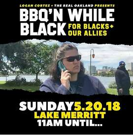 "In response to a white woman, popularly known as ""BBQ Becky,"" calling the police on black people who were grilling at Lake Merritt, there was an anti-racist barbeque at the lake in mid-May."