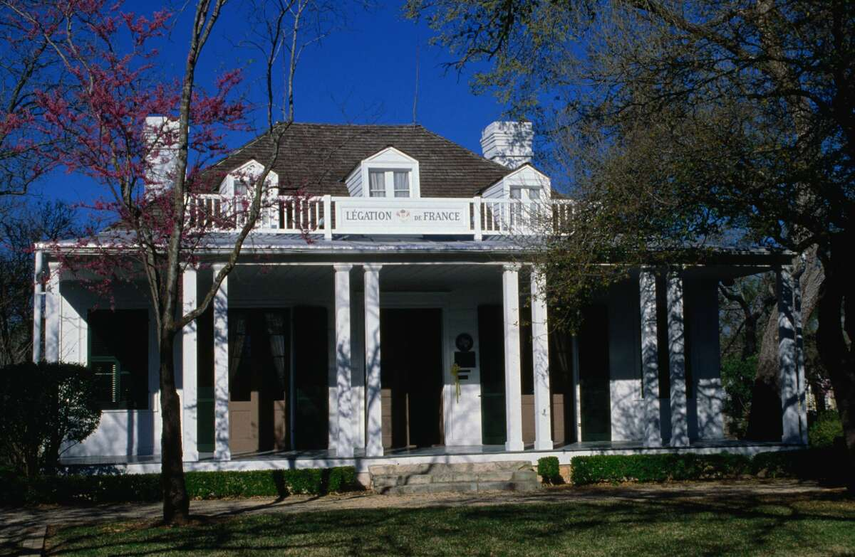 French Legation State Historic Site Where: 802 San Marcos St., Austin, Texas Importance: It was built in 1841 to represent the French government in the Republic of Texas after is was officially recognized as its own nation.