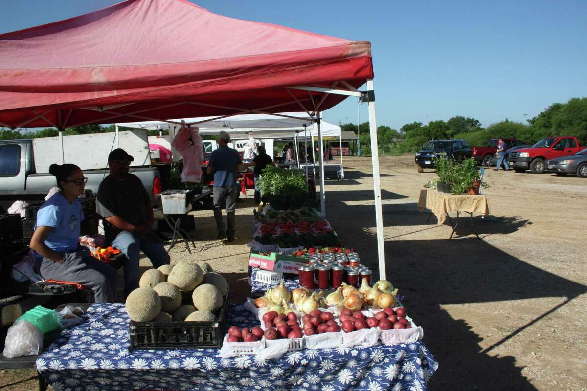The Olmos Basin Farmers Market is open from 8 a.m. to 1 p.m. every Saturday and Tuesday at 109 Jackson Keller Road.