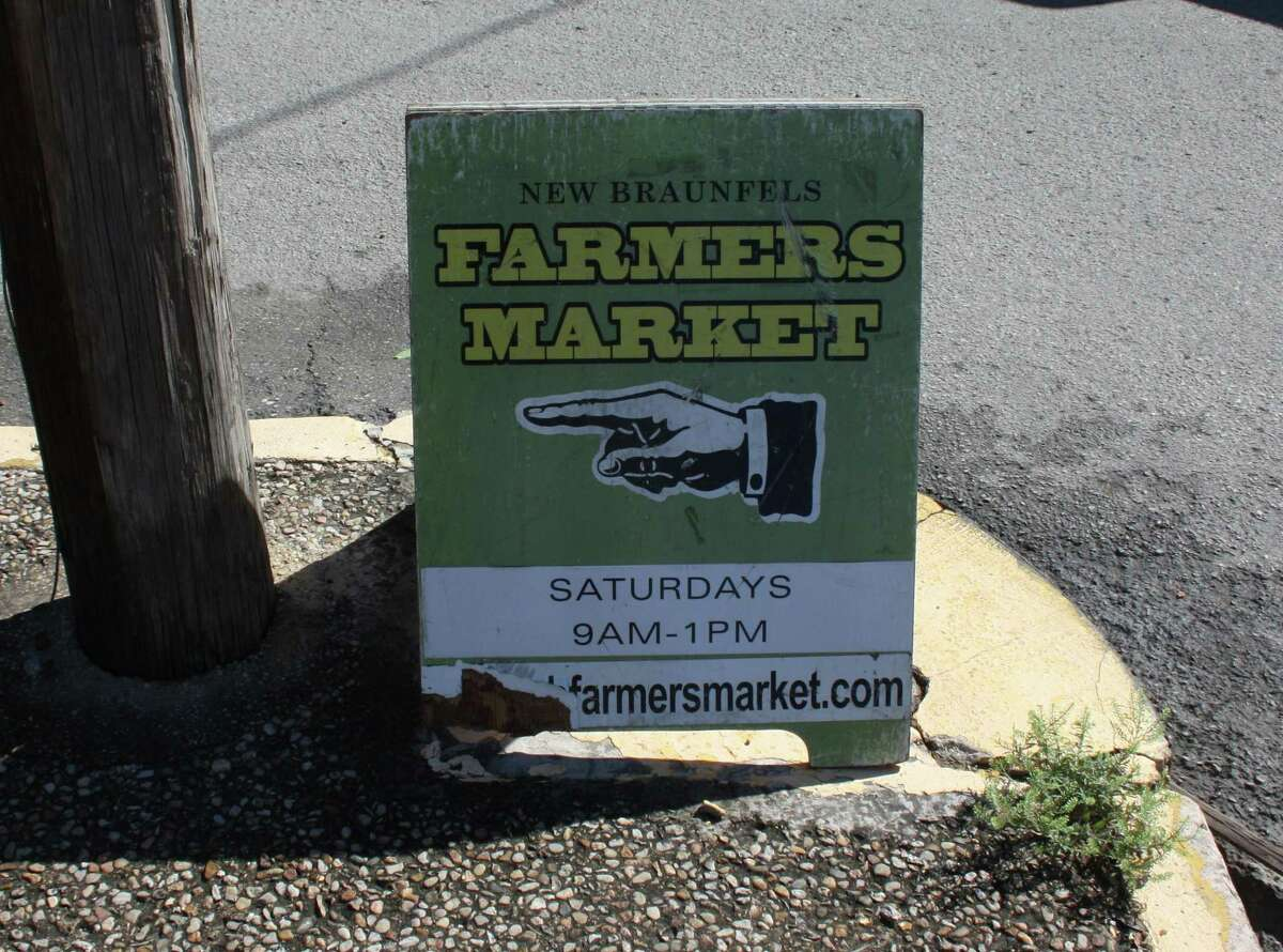 The New Braunfels Farmers Market operates from 9 a.m. to 1 p.m. every Saturday at 186 S. Castell Ave. in downtown New Braunfels.