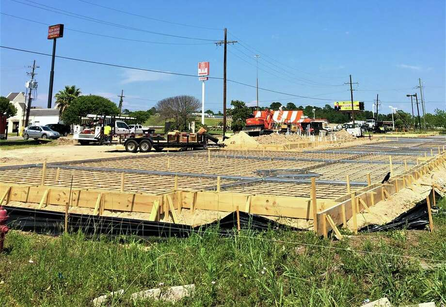 The City of Orange shared this photo on its Facebook page Wednesday showing the future home of Burger King.