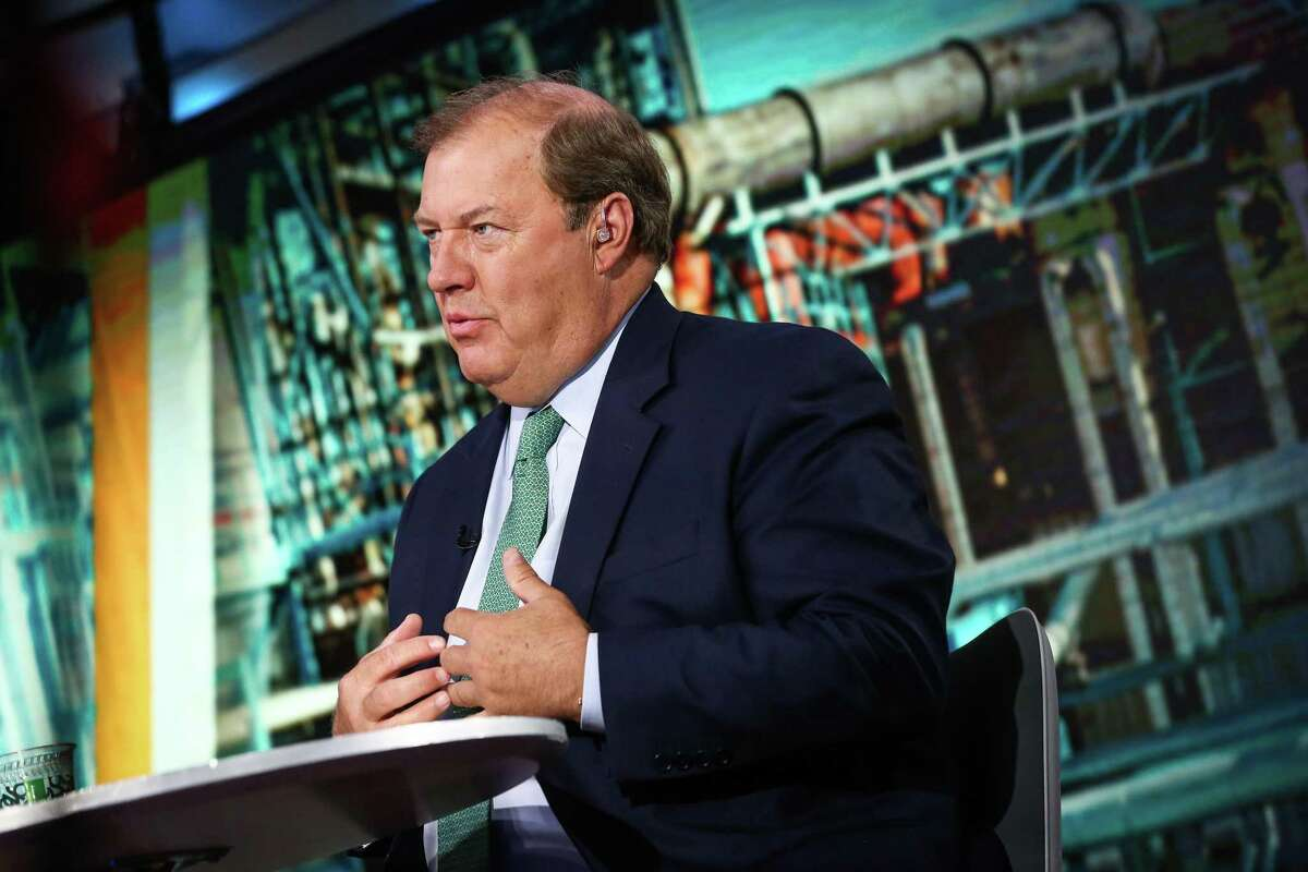 Gary Heminger, chief executive officer of Marathon Petroleum, in a file photo. Heminger said at CERAWeek his company and the industry at large has weathered Venezuelan oil sanctions well and is ready for IMO 2020. NEXT: See the world's largest refineries.