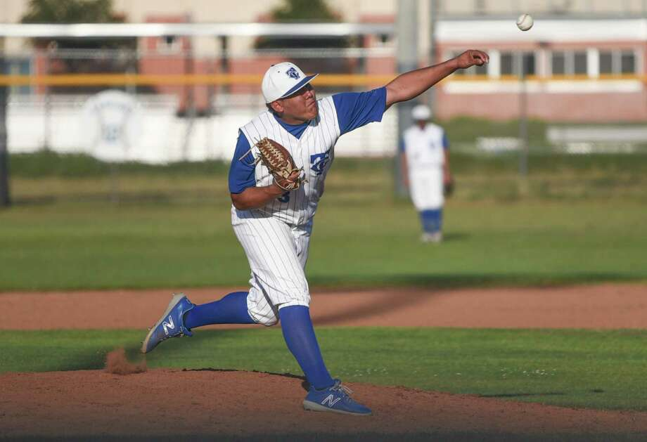 Cigarroa's Alfredo Flores was named 2018 District 31-5A Pitcher of the Year. The Toros ace led the district with 104 strikeouts and a 1.10 ERA. Photo: Danny Zaragoza /Laredo Morning Times File