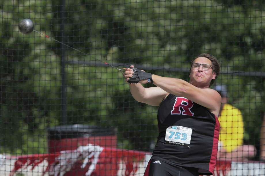 Averill Park graduate Rudy Winkler competes for Rutgers at the Big Ten Outdoor Track & Field Championships in Bloomington, Ind. (AJ Mast / Rutgers Athletics) Photo: AJ Mast