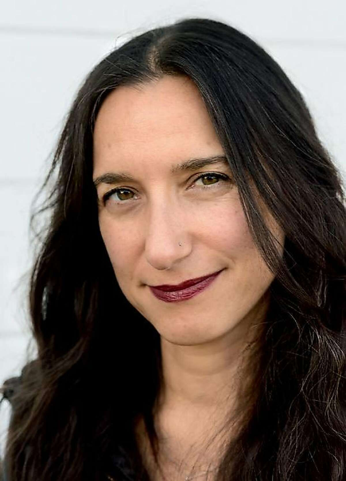 """San Francisco poet Melissa Stein: """"I�ve always been attracted to the darker side of things."""""""