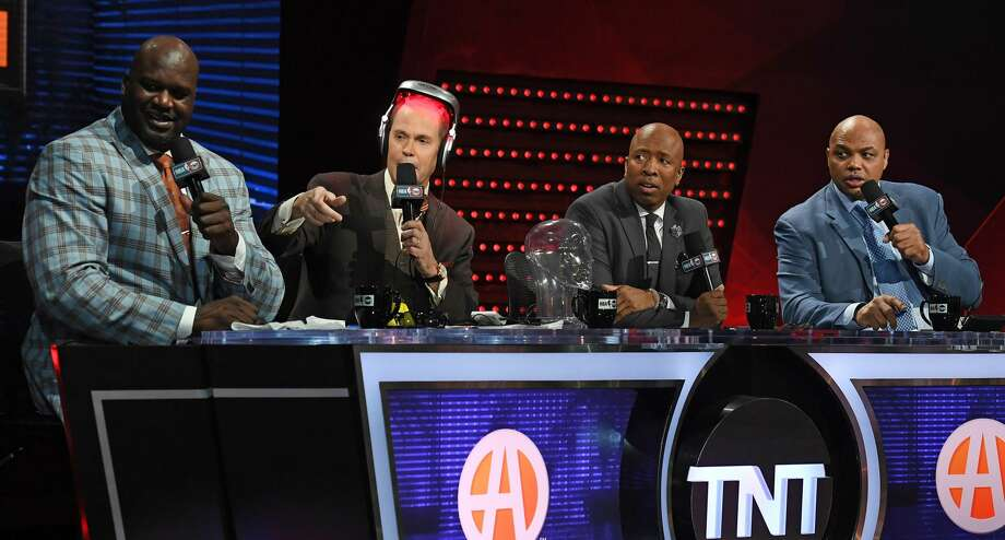 """TNT's """"Inside the NBA"""" crew put a wrap on the Rockets' season after their Game 7 loss to the Warriors on Monday night. Photo: Ethan Miller / Getty Images/Getty Images"""