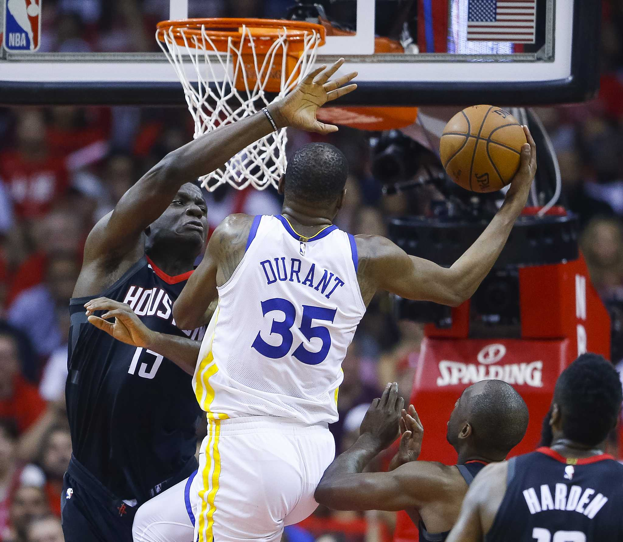 Solomon: Rockets, Warriors Can't Be Stopped, Until They