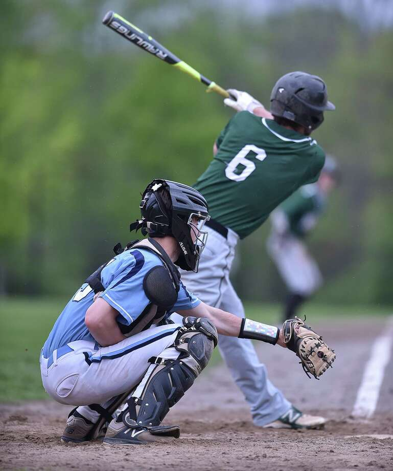 Northwest Catholic defeats Middletown, 11-0, Wednesday, May 16, 2018, in a non-conference game at Middletown High School. Photo: Catherine Avalone, Hearst Connecticut Media / New Haven Register