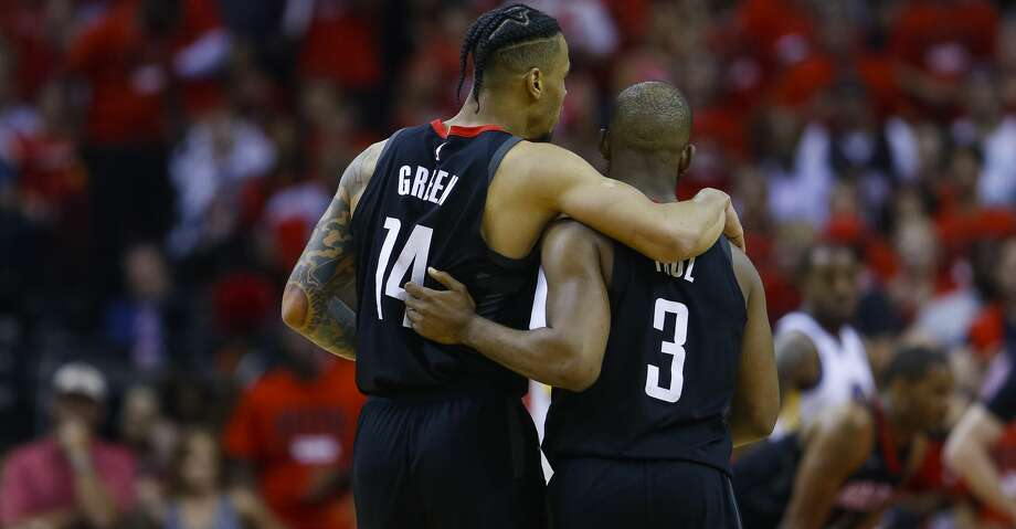 PHOTOS: More from the Rockets' Game 2 win over the Warriors