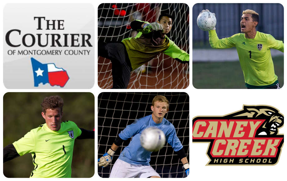 Magnolia West's Elias Rodriguez, Conroe's Oscar Maldonado, The Woodlands' Blake Havern, College Park's Ben Dixon and Caney Creek's Gabriel Sandoval are The Courier's nominees for Goalkeeper of the Year.