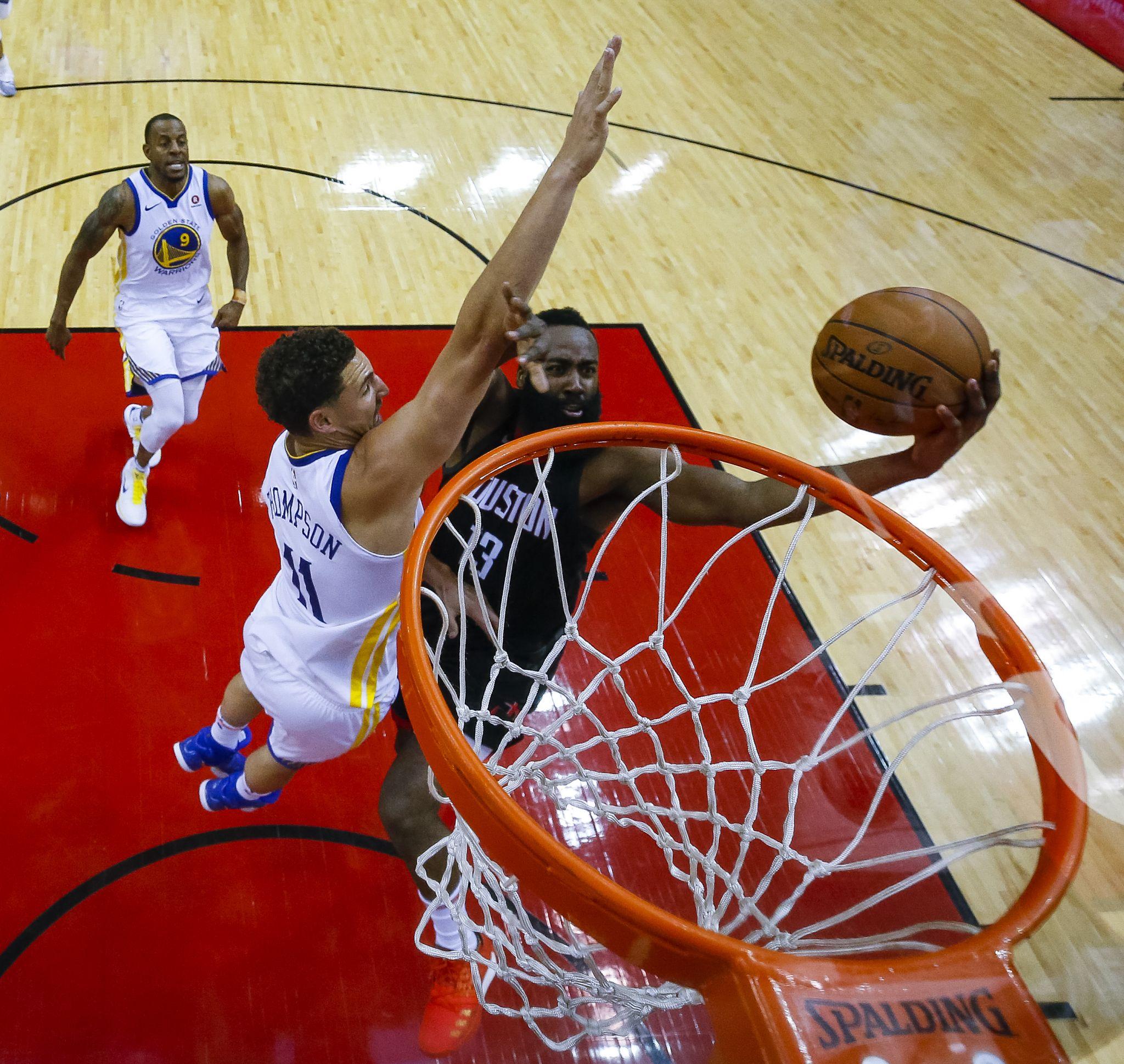 Rockets Run Same Offense Against Warriors, But Do It