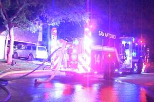 Firefighters responded to the blaze around midnight at a home in the 15100 block of Oakmere Street. They were able to extinguish the blaze, but not before the flames caused some $100,000 in damage.