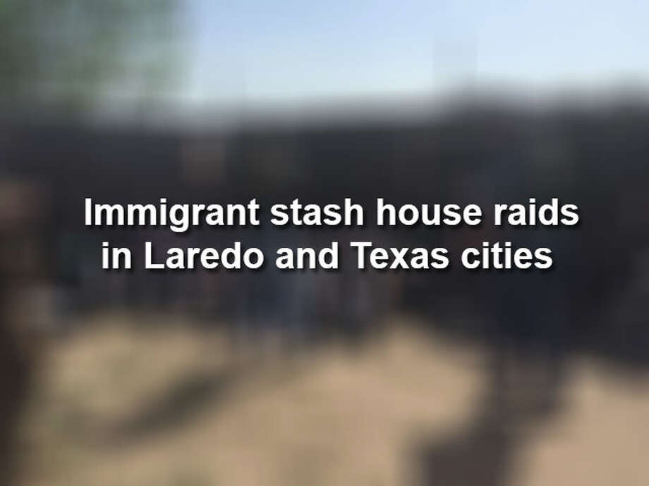 From plywood floors to Santa Muerte altars, click through to see recent CBP immigrant stash house raids in Texas. Photo: Laredo Morning Times