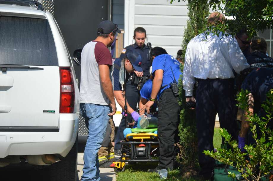 A Beaumont child is expected to recover after being struck by a car Wednesday, May 17, 2018. Photos provided by Eric Williams Photo: Eric Williams