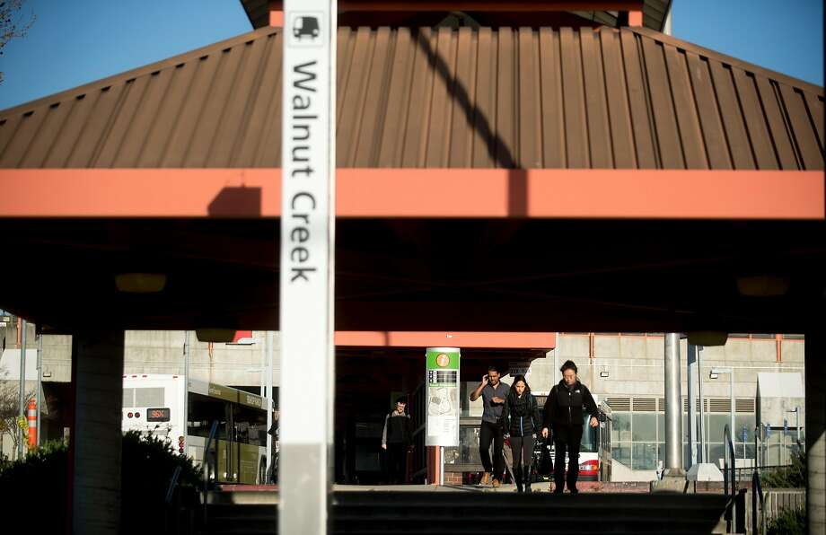 BART trains between Walnut Creek and Pleasant Hill were experiencing major delays due to equipment issues, officials said. Photo: Noah Berger / Special To The Chronicle