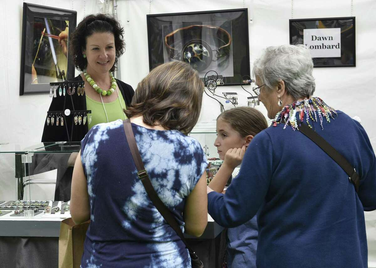 """""""Art at Ives: Juried Fine Art & Crafts Show"""" takes place at Ives Concert Park in Danbury on June 2 and 3."""