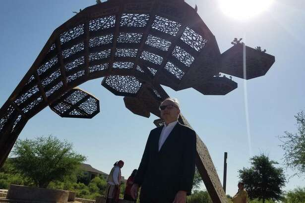 """CoCobijos,"" a public art installation by artist Mel Chin, is being unveiled to the public at Mission County Park."
