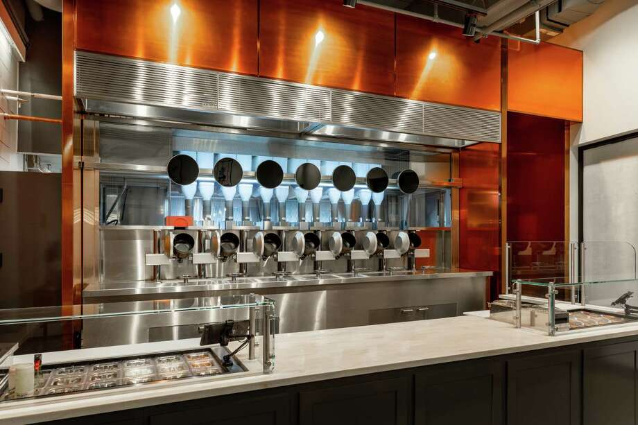 Boston restaurant, Spyce, relies on seven autonomous cooking pots and other technology to prepare customer's meals. Photo: Photo Courtesy Of Spyce. / Photo courtesy of Spyce