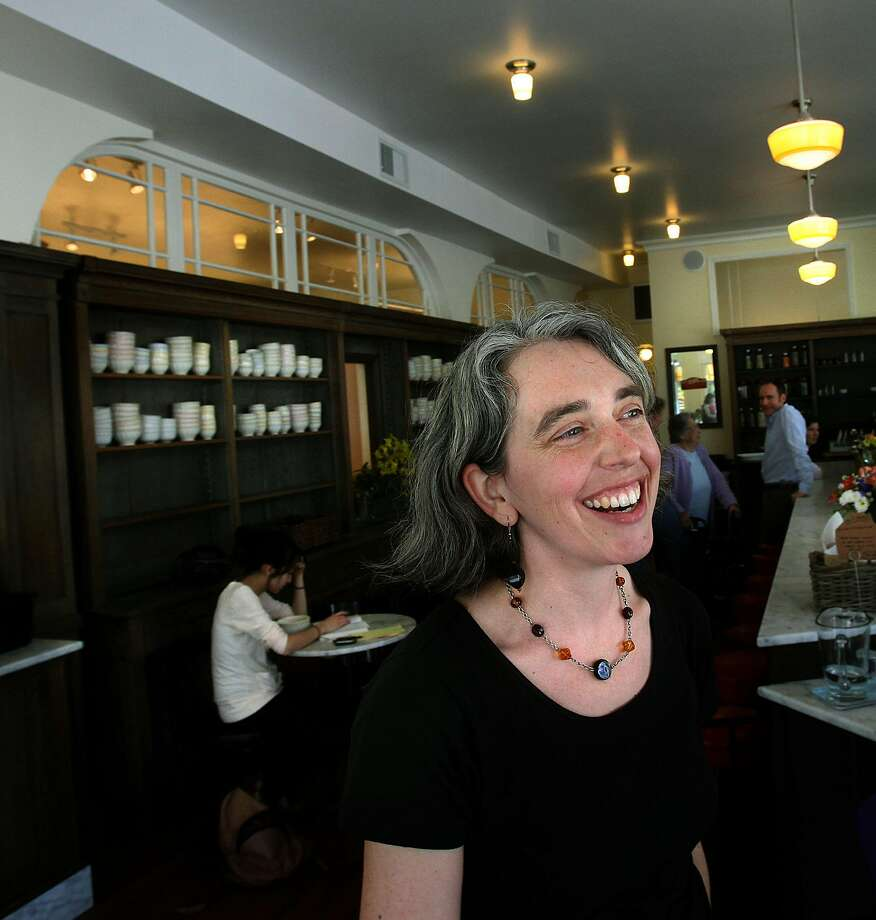 Kara Hammond is the new owner of Baker & Commons, formerly Elmwood Cafe. Here, she is pictured in 2010 at the cafe, where she had been the manager. Photo: Liz Hafalia / The Chronicle 2010