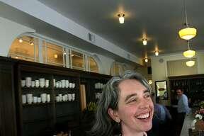 General manager Kara Hammond of Elmwood Cafe in Berkeley, Calif., on Friday, April 23, 2010.