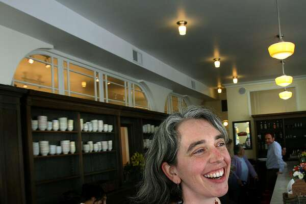General manager Kara Hammond of Elmwood Cafe in Berkeley, Calif., on Friday, April 23, 2010.