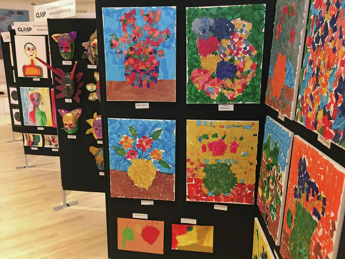 The Drew Friedman Community Arts Center foundation celebrates its first art show on Thursday, May 17, 2018, at the Westport Womans Club. The show, HeARTS Open Wide, features work by local artists from several nonprofits, including CLASP Homes, Project Return, Homes with Hope, The Westport Arts Center and the Westport Historical Society. The reception runs from 5 to 8 p.m., Thursday, May 17, 2018.