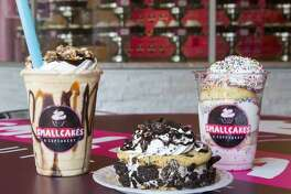 Smallcakes makes their cupcakes and cupcake infused ice cream fresh daily.