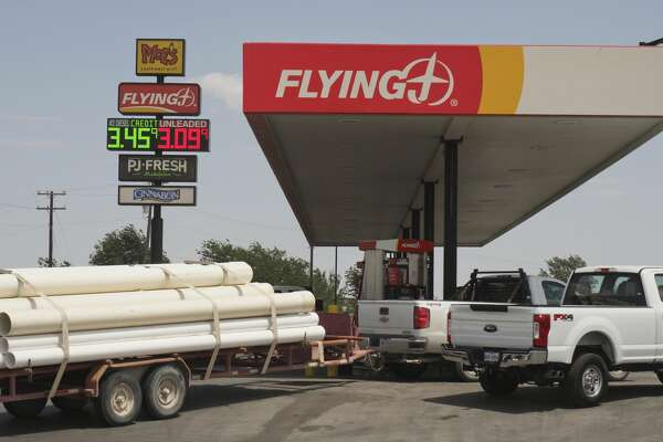 Gas prices are rising in the Permian Basin, with prices topping $3.09 05/17/18 at the FlyingJ on Hwy 158 near I-20.05/17/18 Tim Fischer/Reporter-Telegram