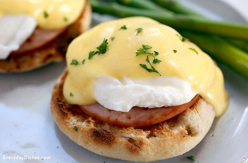 1. My favorite breakfast food is eggs Benedict, but the eggs have to be firm not runny.