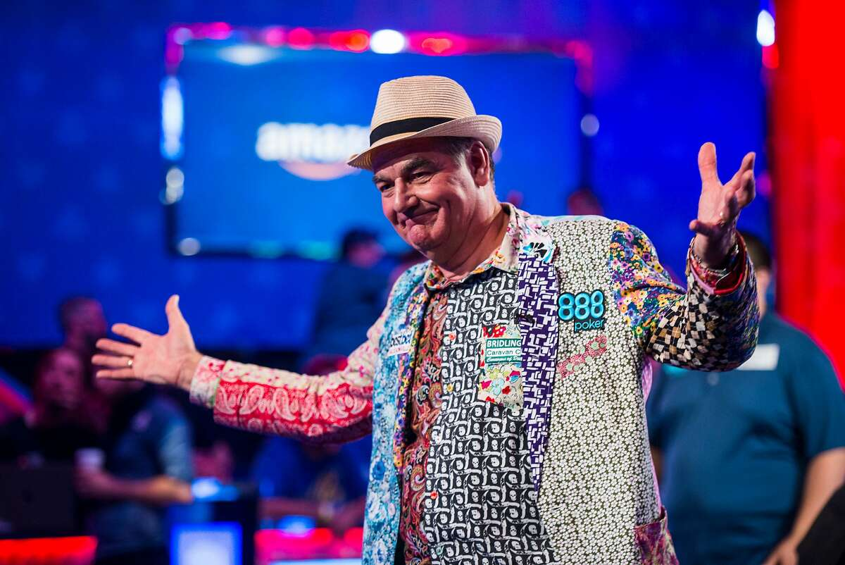 John Hesp at 2017 World Series of Poker Main Event. An amateur from Bridlington, U.K., he finished 4th in a field of 7,221 players, winning $2.6�million.