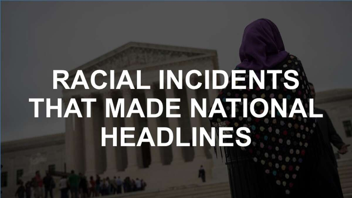 Click through the slideshow to see the racial incidents that have made national headlines recently.