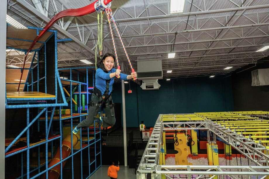 Urban Air, a trampoline/adventure park facility, is opening a Pasadena facility on May 26 at 3838 Fairway Plaza Drive. Photo: Urban Air Pasadena / Urban Air Pasadena