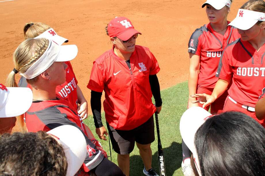 UH softball coach Kristin Vesely Photo: Contributed Photo By UH/Erik Williams