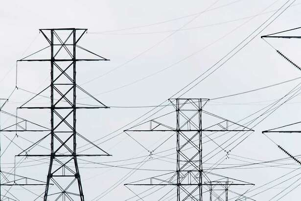 Electricity produced at the South Texas Nuclear Generating Station is carried by power lines to some Texas cities.