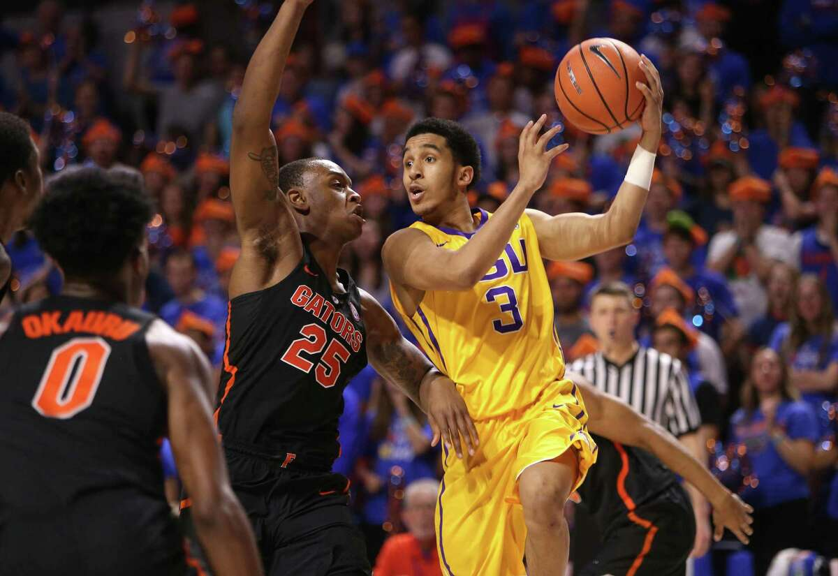 New Haven's Tremont Waters was one of the top freshmen in the SEC at LSU this past season.