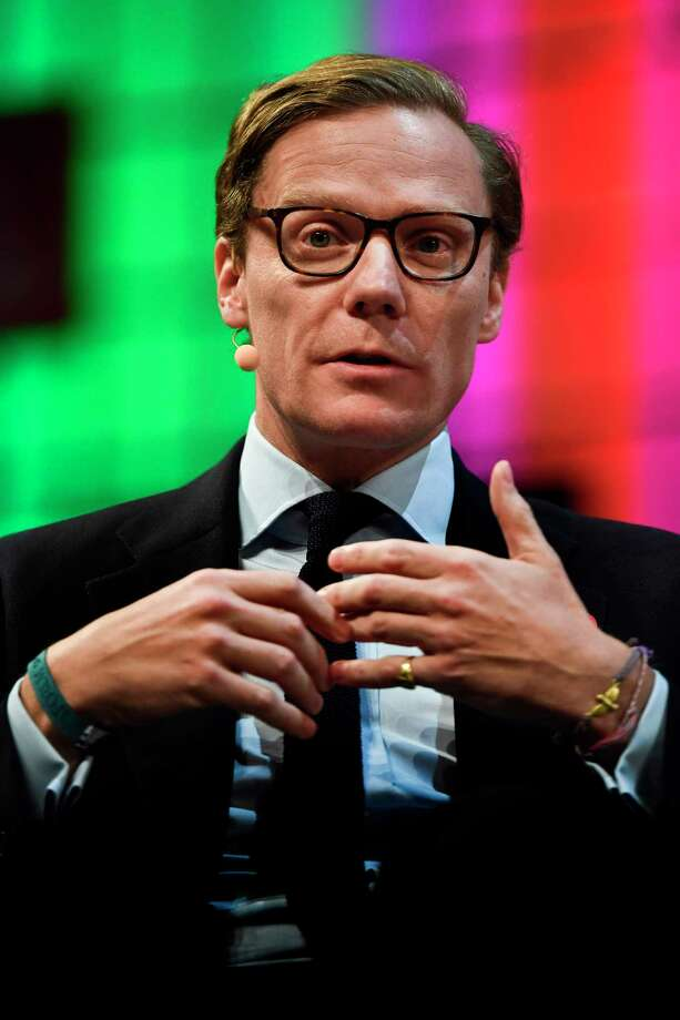 Cambridge Analytica's chief executive officer Alexander Nix gives an interview during the 2017 Web Summit in Lisbon on November 9, 2017.  Europe's largest tech event Web Summit is being held at Parque das Nacoes in Lisbon from November 6 to November 9.  / AFP PHOTO / PATRICIA DE MELO MOREIRAPATRICIA DE MELO MOREIRA/AFP/Getty Images Photo: PATRICIA DE MELO MOREIRA / AFP or licensors