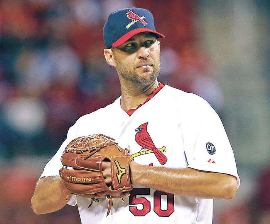 The Cardinals shifted pitcher Adam Wainwright to the 60-day disabled list on Thursday because of persistent pain in his right elbow. Photo:       File Photo