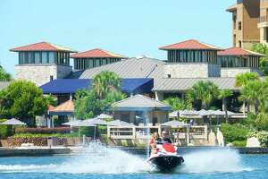 Horseshoe Bay is a 7,000-acre development along Lake LBJ, the reservoir along the Colorado River. The resort includes four golf courses, a full-service marina, a yacht club, several pools and hot tubs, tennis courts and a fitness center.