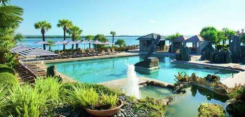official photos e0c0e 0aa67 The pool at the Yacht Club at Horseshoe Bay Resort overlooks Lake LBJ.