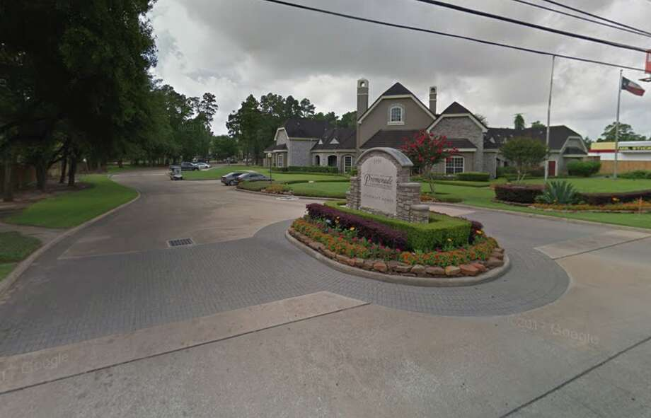 Deputies with the Harris County Sheriff's Office were called out to a burglary of an apartment in the 5900 block of FM 1960 West around 5:30 p.m. Thursday, May 17, 2018. As deputies confronted the suspect, authorities say he shot himself. Photo: Google Maps