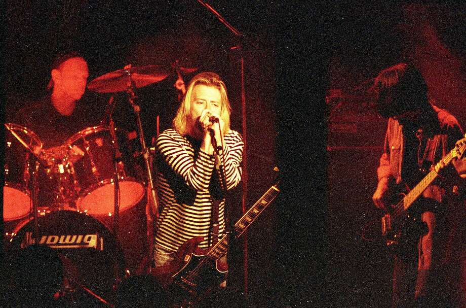 July 11, 1993: English rock band Radiohead plays its first San Francisco concert at Slim's. Photo: Eric Luse / The Chronicle