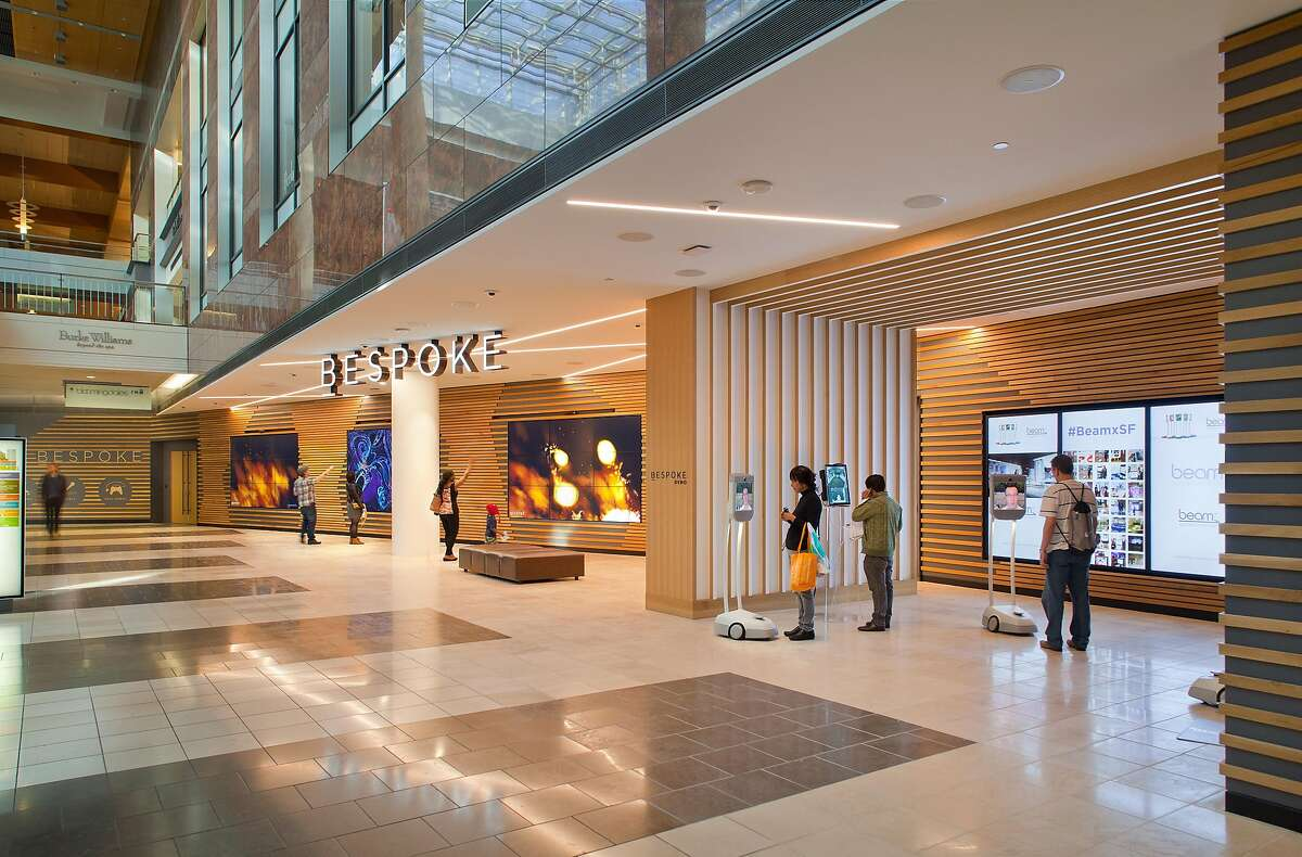 Bespoke, in Westfield San Francisco Centre, offers interactive demonstration space in the mall for brands and entrepreneurs.