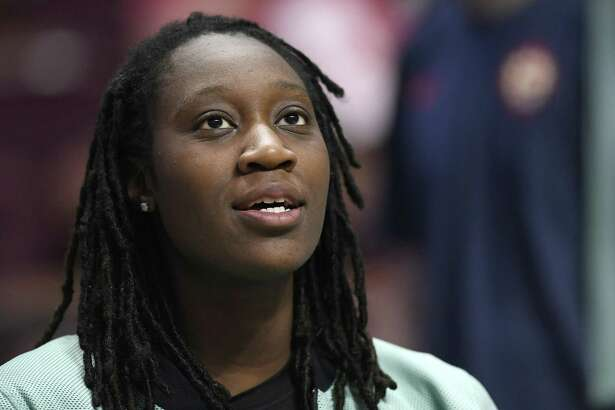 Tina Charles is one of a record 17 UConn alums on WNBA rosters this season.