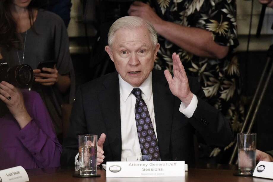 U.S. Attorney General Jeff Sessions barred the nation's immigration judges on Thursday, May 17, 2018, from putting deportation cases on hold, a practice used in hundreds of thousands of cases of immigrants who needed time to gain legal status or were found to be low priorities for removal. Photo: Olivier Douliery / TNS / Abaca Press