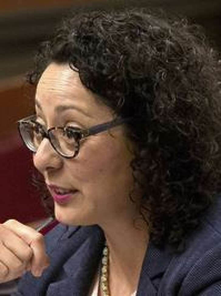Assembly woman Cristina Garcia, an L.A. County Democrat,   went on unpaid leave.