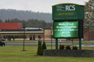 Ravena-Coeymans-Selkirk middle and high school complex on Route 9W on Tuesday, Dec. 5, 2017, in Selkirk, N.Y. (Will Waldron/Times Union archive)